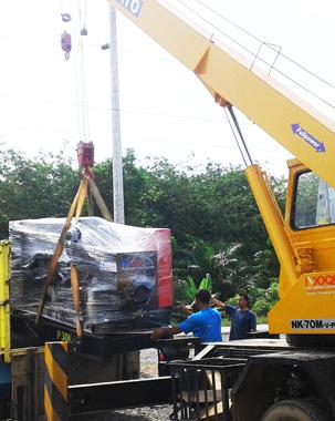 mobil crane 7 ton